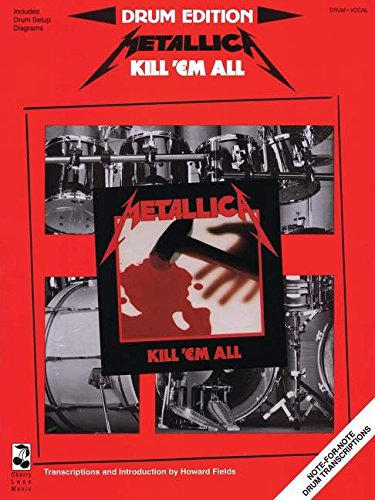 Phantom Lord - Metallica - Collection of Drum Transcriptions / Drum Sheet Music - Cherry Lane Music MKEMDE