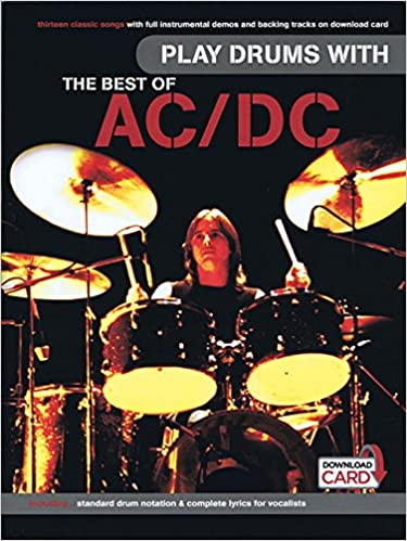 Play Drums with The Best of AC/DC publication cover