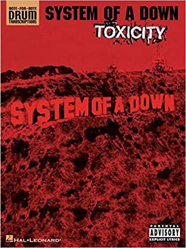 X - System of a Down - Collection of Drum Transcriptions / Drum Sheet Music - Hal Leonard SOADTS