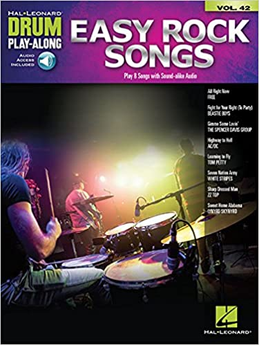 Easy Rock Songs Drum Play-Along Volume 42 publication cover