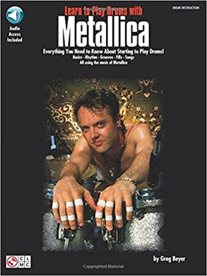 2 X 4 - Metallica - Collection of Drum Transcriptions / Drum Sheet Music - Cherry Lane Music L2PDM