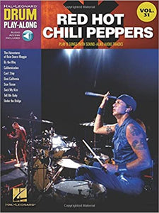Red Hot Chili Peppers Drum Play-Along Volume 31 publication cover