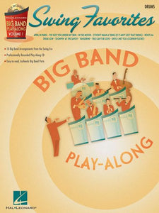 Swing Favorites – Drums - Big Band Play-Along Volume 1 publication cover