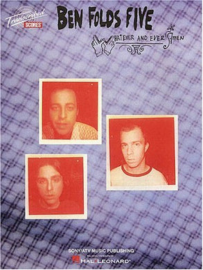 Selfless, Cold And Composed - Ben Folds Five - Collection of Drum Transcriptions / Drum Sheet Music - Hal Leonard BF5WAA