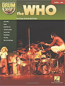 The Who Drum Play-Along Volume 23 publication cover