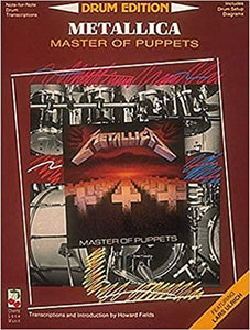 Leper Messiah - Metallica - Collection of Drum Transcriptions / Drum Sheet Music - Cherry Lane Music DEMMOP