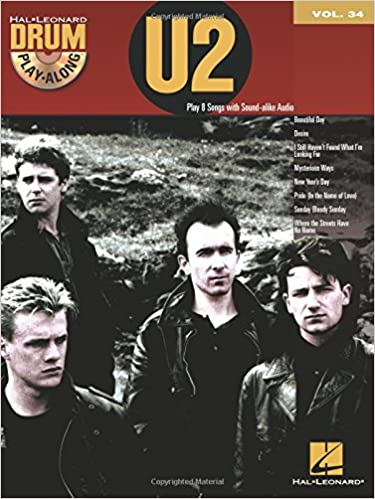 Where the Streets Have No Name - U2 (The Band) - Collection of Drum Transcriptions / Drum Sheet Music - Hal Leonard U2DPA