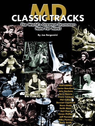 The Camera Eye - Rush - Collection of Drum Transcriptions / Drum Sheet Music - Modern Drummer MDCTGD