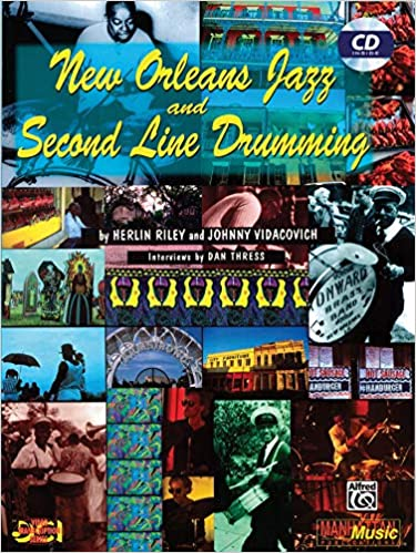 New Orleans Cakewalk - Alvin Red Tyler - Collection of Drum Transcriptions / Drum Sheet Music - Alfred Music NOJSLD