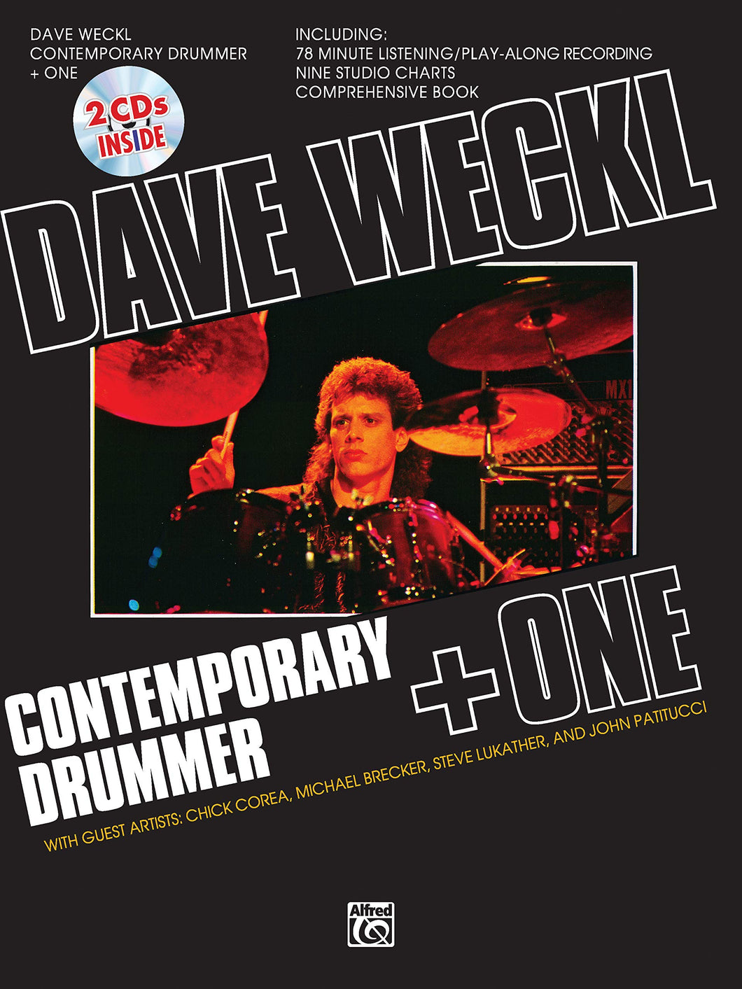 Again and Again - Dave Weckl - Collection of Drum Transcriptions / Drum Sheet Music - Alfred Music DWCDO