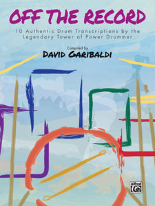 Down to the Nightclub - David Garibaldi - Collection of Drum Transcriptions / Drum Sheet Music - Alfred Music DGOTR