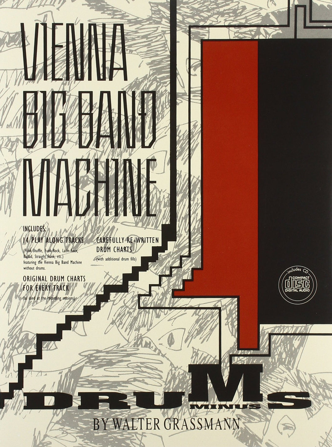 Gettin' The Rhythm - Vienna Big Band Machine - Collection of Drum Transcriptions / Drum Sheet Music - Alfred Music VBBMMD