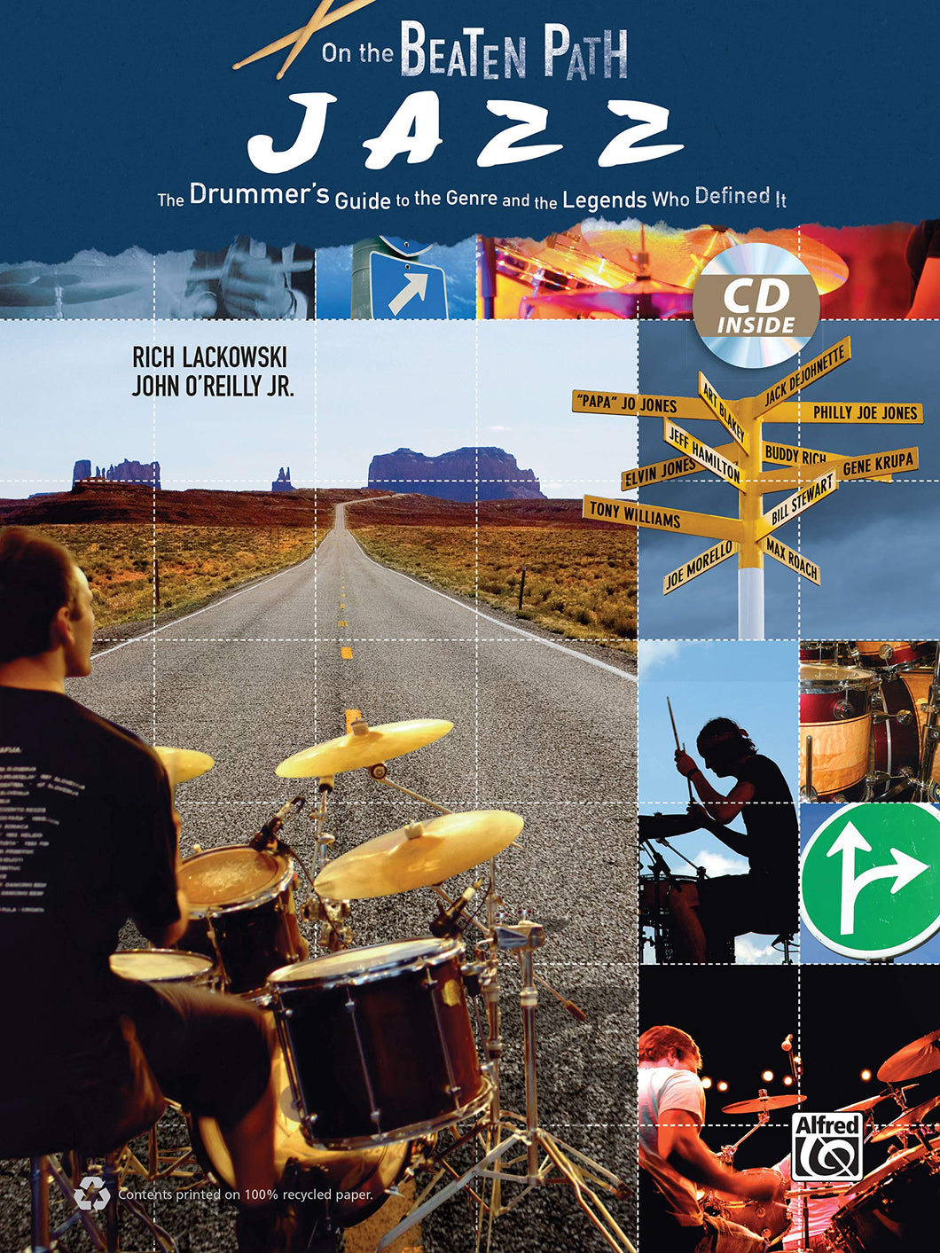 Take Five(Intermediate) - The Dave Brubeck Quartet - Collection of Drum Transcriptions / Drum Sheet Music - Alfred Music OBPJDGLDI
