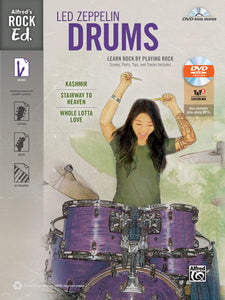 Alfred's Rock Ed. – Led Zeppelin Drums: Learn Rock by Playing Rock publication cover