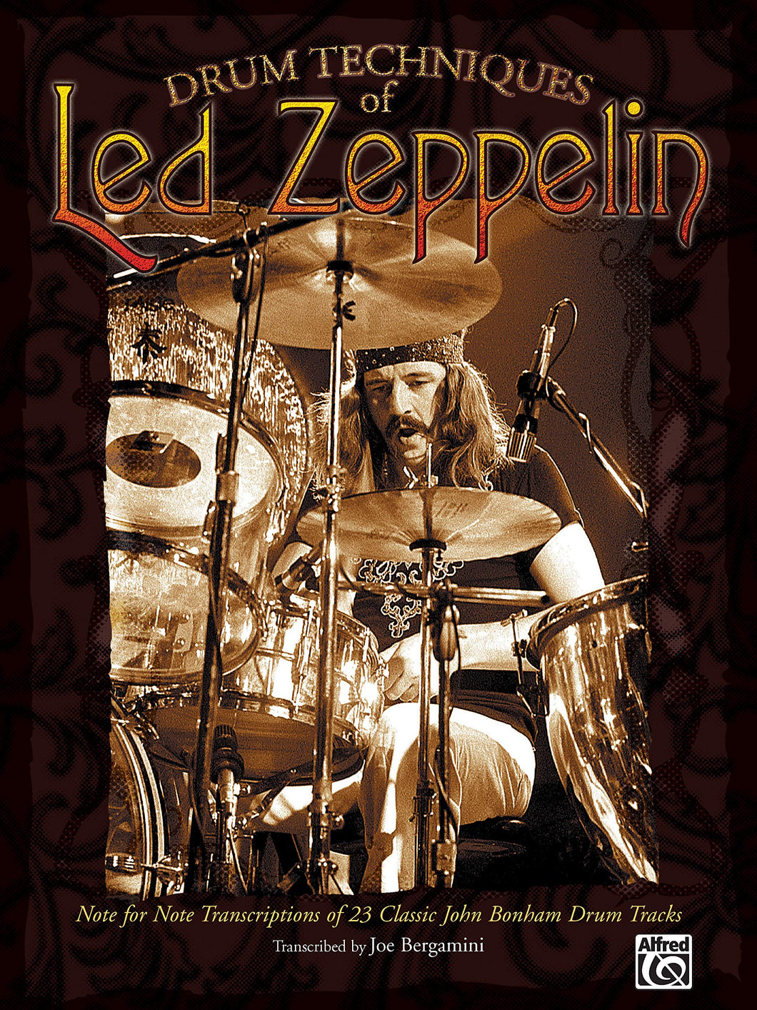 Over The Hills And Far Away - Led Zeppelin - Collection of Drum Transcriptions / Drum Sheet Music - Alfred Music DTLZNFNT