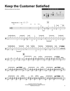 Keep The Customer Satisfied - Buddy Rich - Full Drum Transcription / Drum Sheet Music - SheetMusicDirect DT