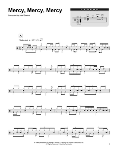 Mercy, Mercy, Mercy - The Buckinghams - Full Drum Transcription / Drum Sheet Music - SheetMusicDirect DT