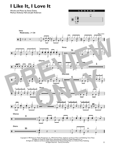 I Like It, I Love It - Tim McGraw - Full Drum Transcription / Drum Sheet Music - SheetMusicDirect DT
