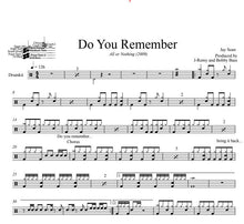 Do You Remember - Jay Sean - Full Drum Transcription / Drum Sheet Music - DrumSetSheetMusic.com