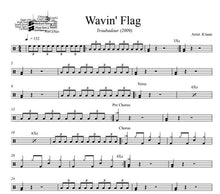 Wavin' Flag - K'naan - Full Drum Transcription / Drum Sheet Music - DrumSetSheetMusic.com