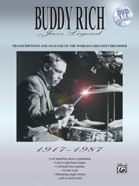 West Side Story - Buddy Rich Big Band - Collection of Drum Transcriptions / Drum Sheet Music - Alfred Music