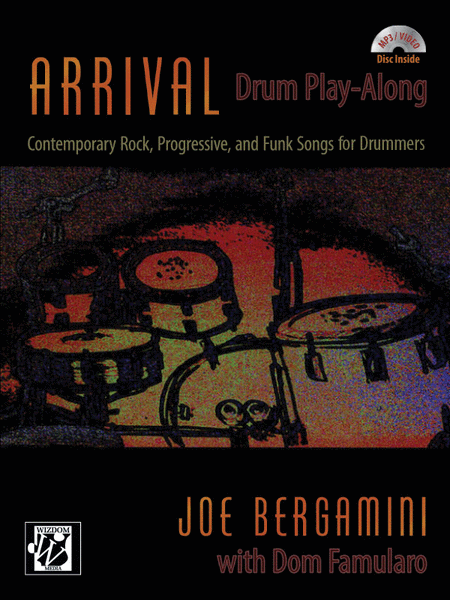 Arrival - Joe Bergamini - Collection of Drum Transcriptions / Drum Sheet Music - Alfred Music ADPACRPFD