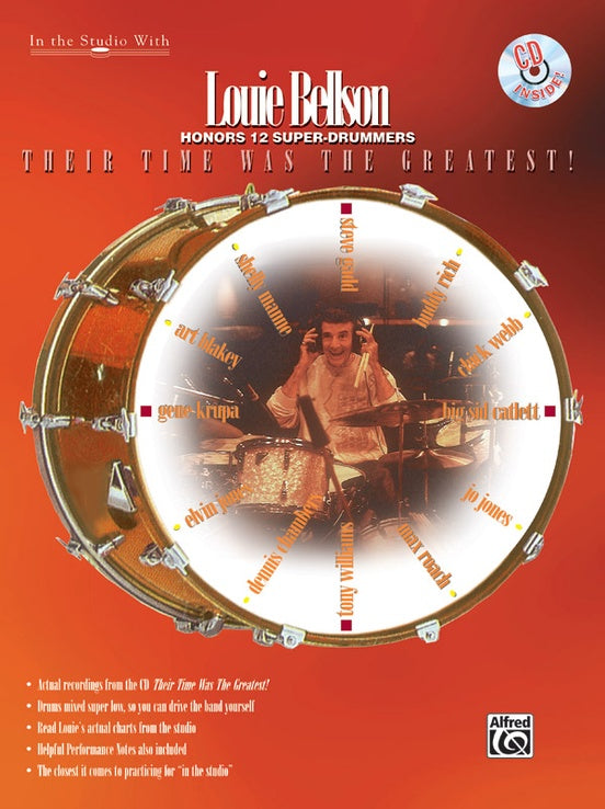 Well Alright Then - Louie Bellson And His Big Band - Collection of Drum Transcriptions / Drum Sheet Music - Alfred Music LBTTWG