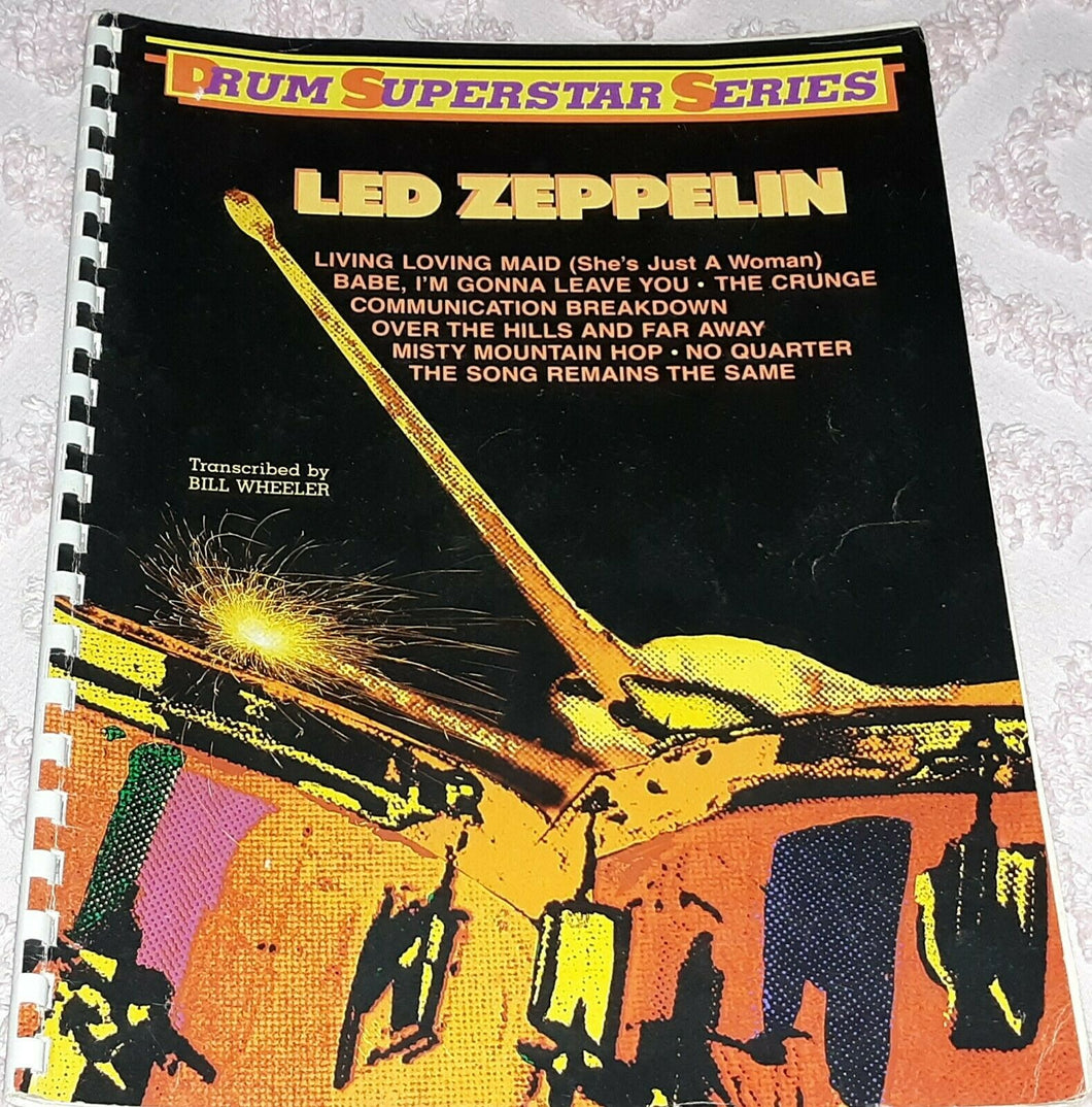 Babe I'm Gonna Leave You - Led Zeppelin - Collection of Drum Transcriptions / Drum Sheet Music - Alfred Music LZDSS