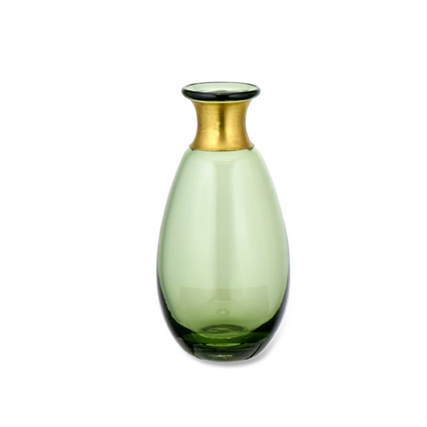 Miza Mini Glass Vase (Large) - Green