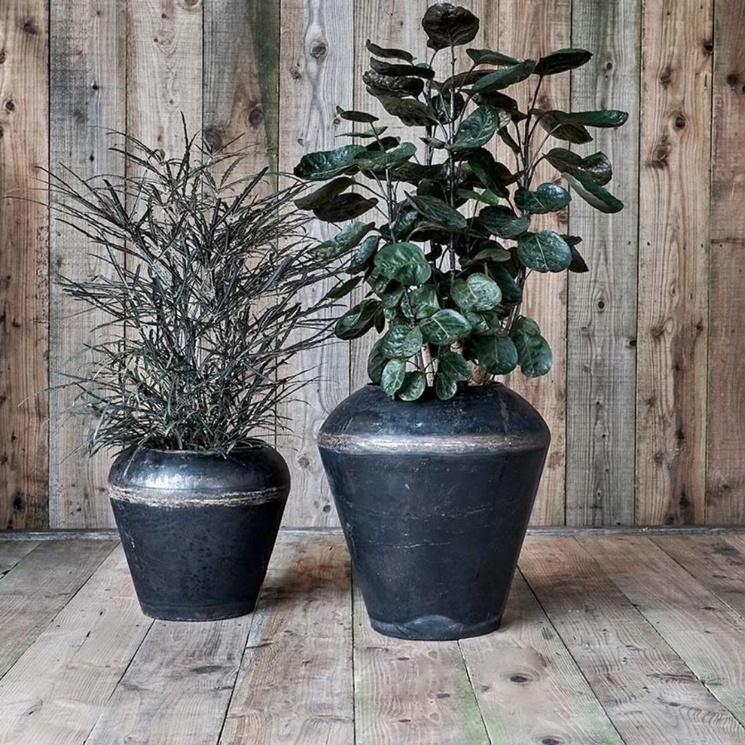 Endo Reclaimed Iron Pot - Tall