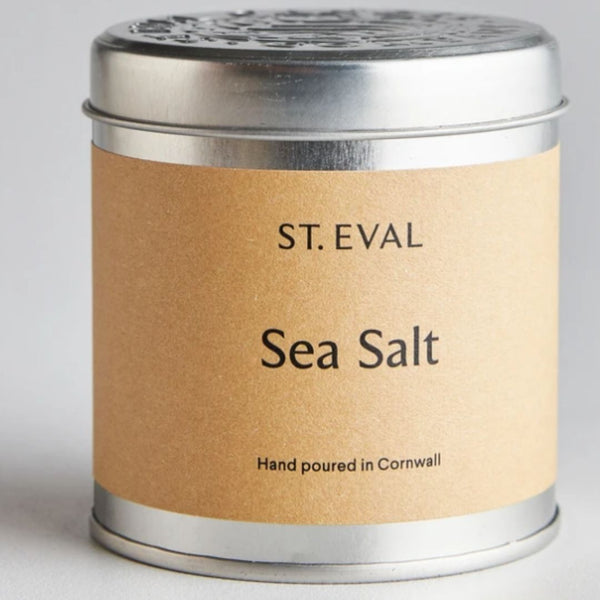Sea Salt Candle Tin