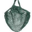 Fair Trade Organic Cotton Short Handled String Bag - Various Colours