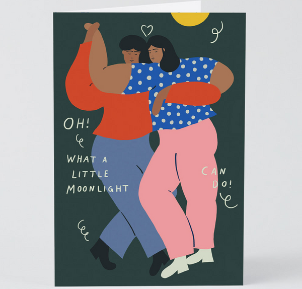 Dancers In Love Card