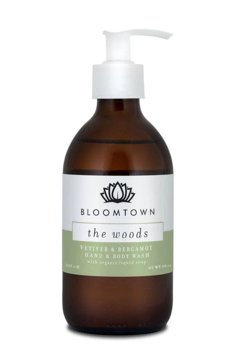 Organic Hand & Body Wash - The Woods (Vetiver, Cedar & Bergamot)