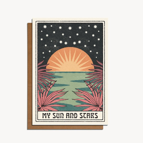 My Sun and Stars - Card