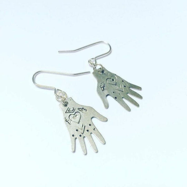 Healing Hands Boho Earrings