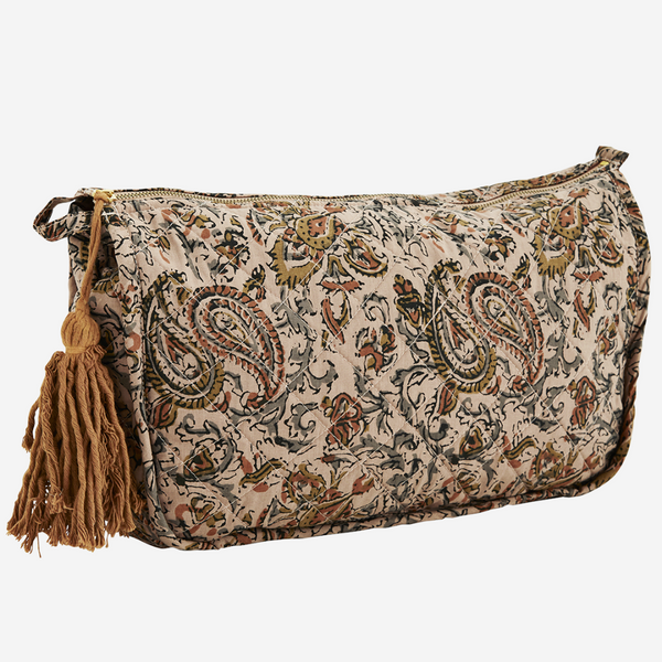 Printed Make-Up Bag  - Large
