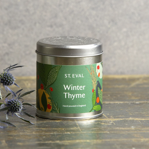 Winter Thyme Scented Christmas Tin - BACK IN STOCK SOON