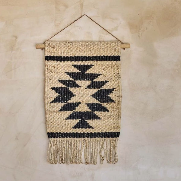 Hombi Hemp Wall Hanging - Aztec