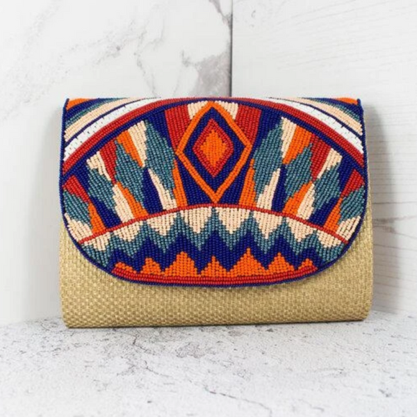 Boho Clutch Bag - Diamond