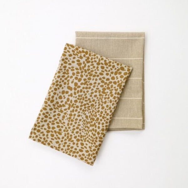 Animal Print Tea Towel - 100% Recycled Cotton