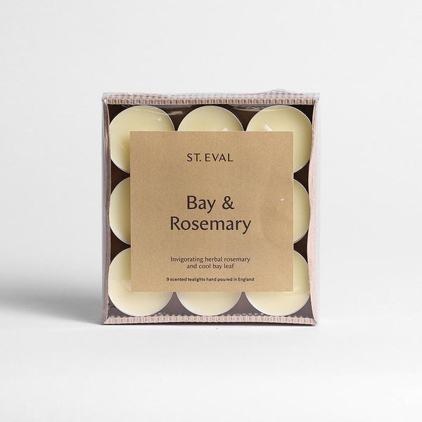 St. Eval Bay & Rosemary Tealights