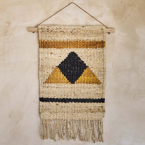 Hombi Hemp Wall Hanging - Triangle