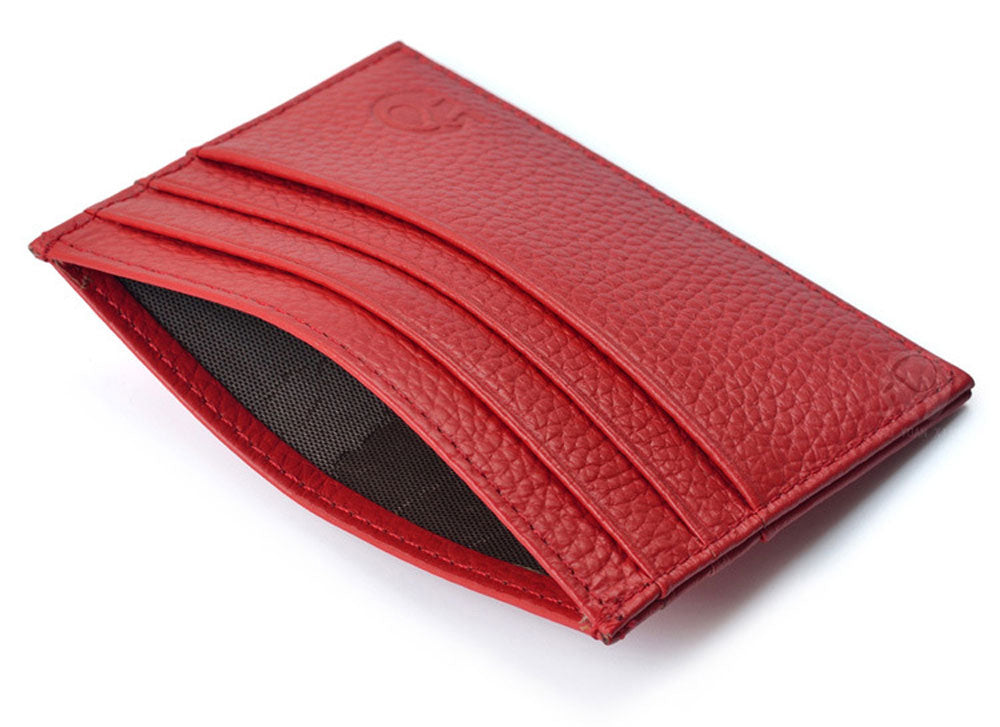 Round Elephant Lichee Pattern Solid Color Open Horizontal Card Wallet for Men Women