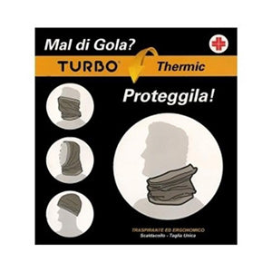 Scaldacollo Turbo Thermic nero Sanico