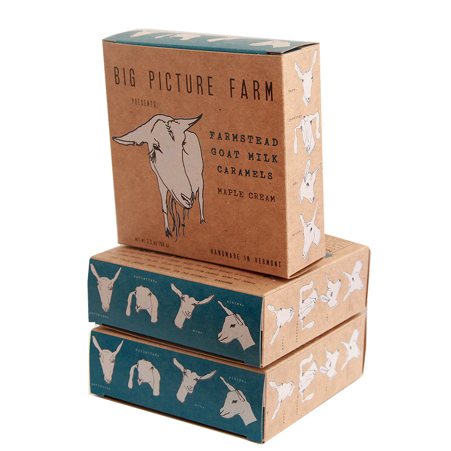 Farmstead Goat Milk Caramels - Farm Box