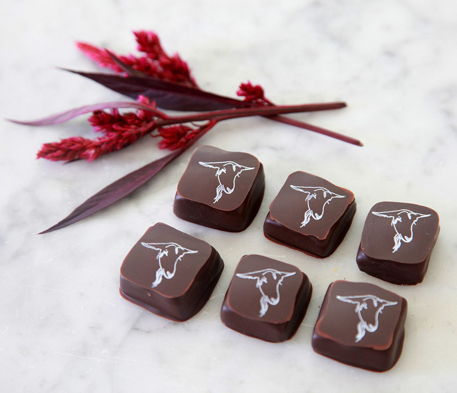 Chocolate Covered Goat Milk Caramels