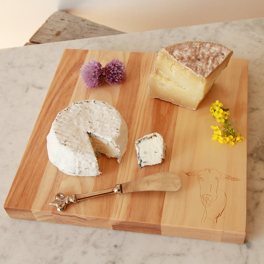 Square Ash Cutting Board