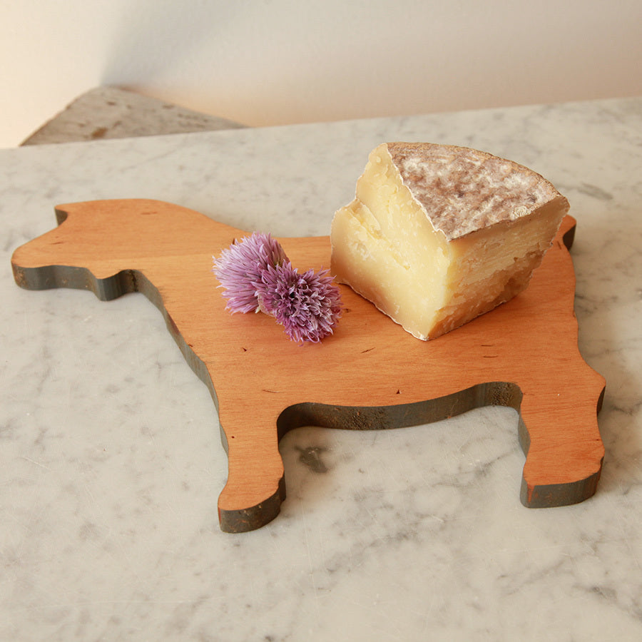 Goat shaped cutting board