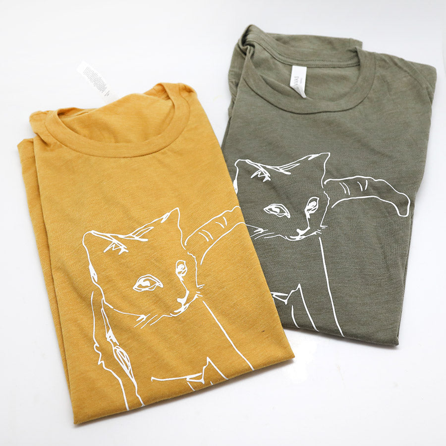 CAT tee shirt Super Soft Tees
